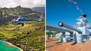 Pearl Harbor Tour & Helicopter Flight
