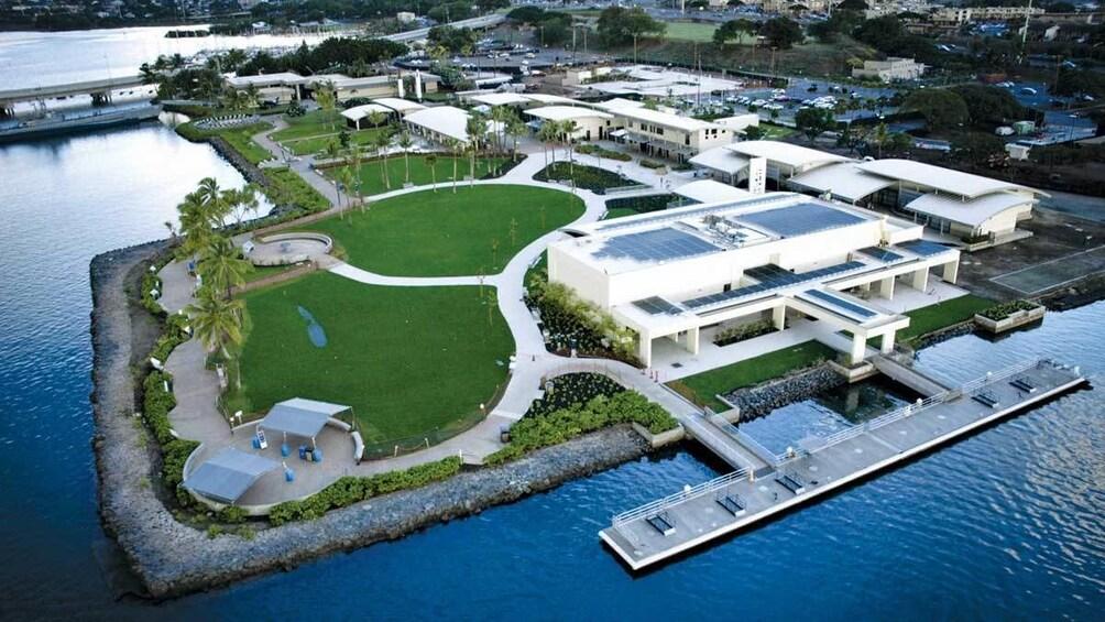 Show item 2 of 9. Pearl Harbor memorials in Oahu