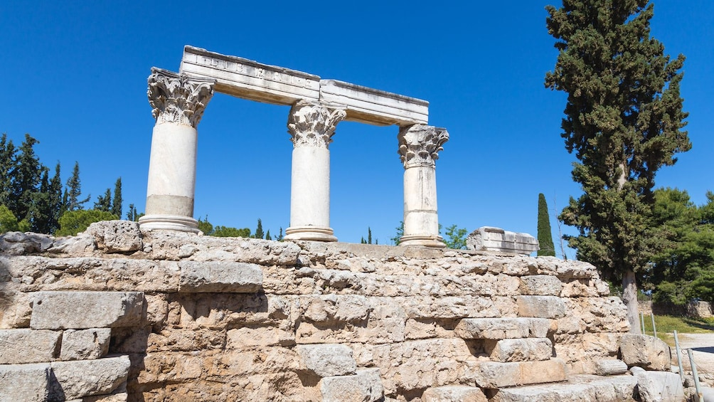 Show item 5 of 5. Ancient ruins in Greece.