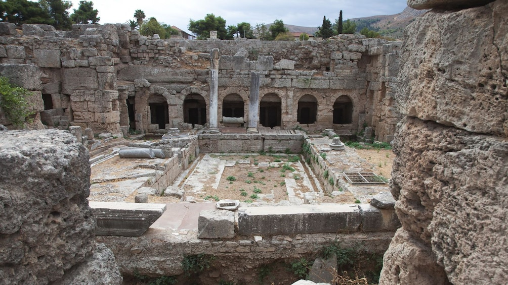 Show item 1 of 5. Ancient ruins in Greece.