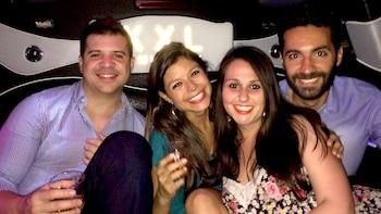 Limousine-feesttour met toegang tot de nachtclub