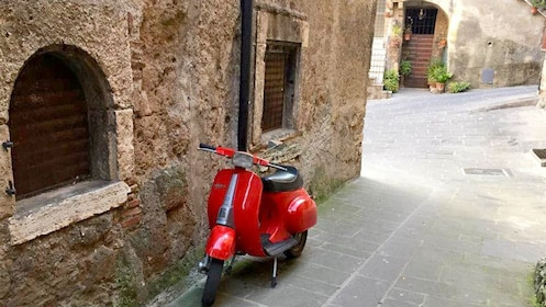 Parked Vespa in Florence