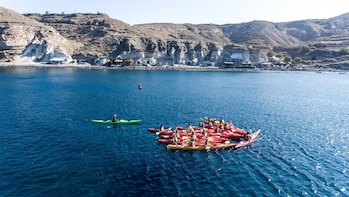 Santorini : Morning Sea Kayak Tour
