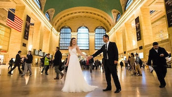 Private Grand Central Station Photo Shoot