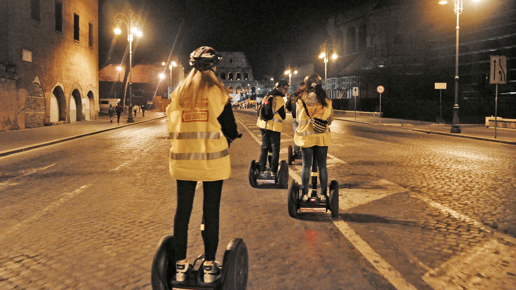 segway riders in rome