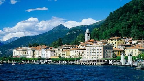 Town on Lake Como, Italy