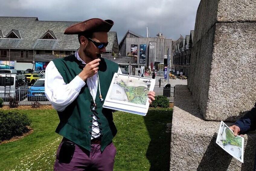 Vibrant Historical Walking Tour Through Falmouth