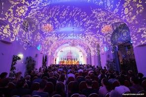 Concerto de música clássica no Schönbrunn no natal e no réveillon