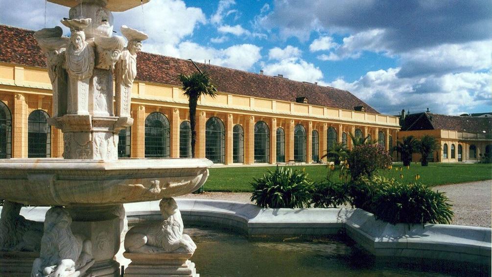 fountain at palace