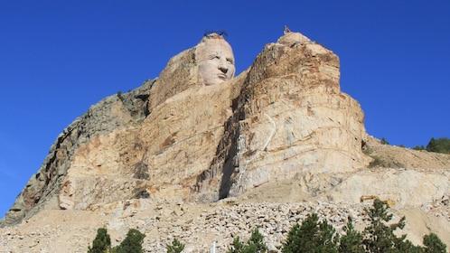 Crazy Horse sculpture