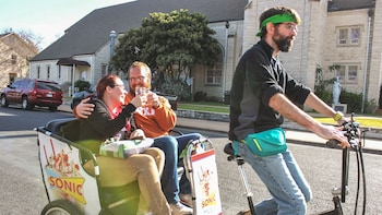 Pedicab Brewery Tour of East Austin