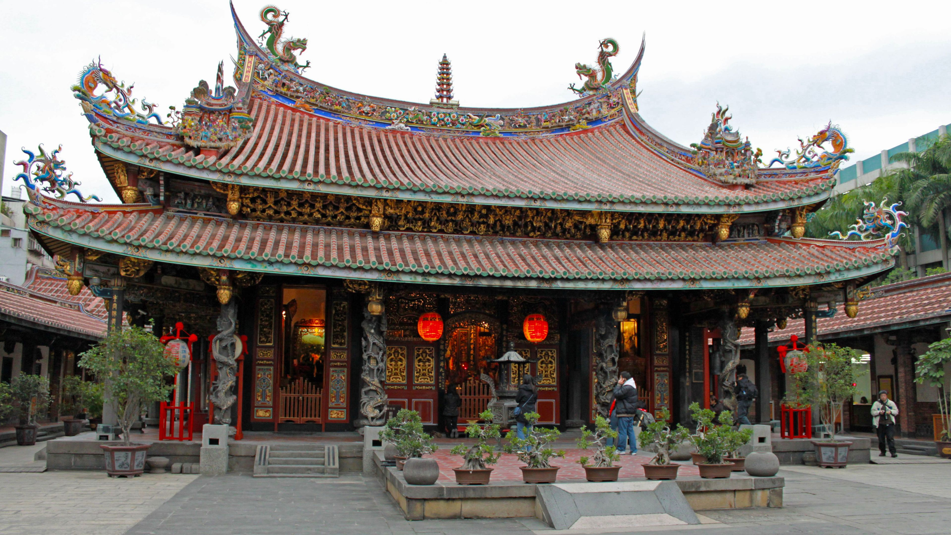 temple viewed from front