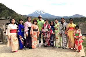 Tour to Mt.Fuji and surroundings, the region of the 5 lakes