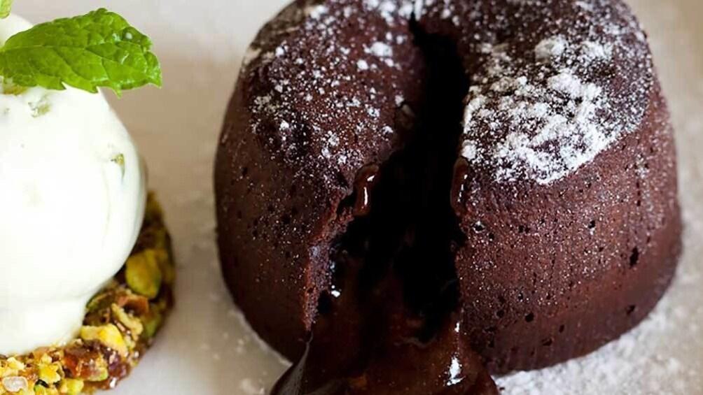 a chocolate brownie in Australia