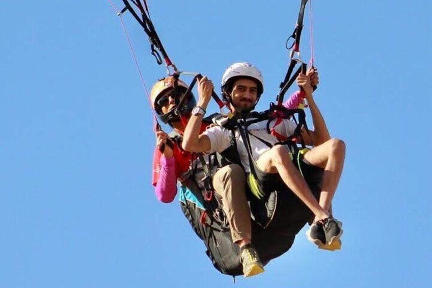 Tandem Paragliding in Egypt