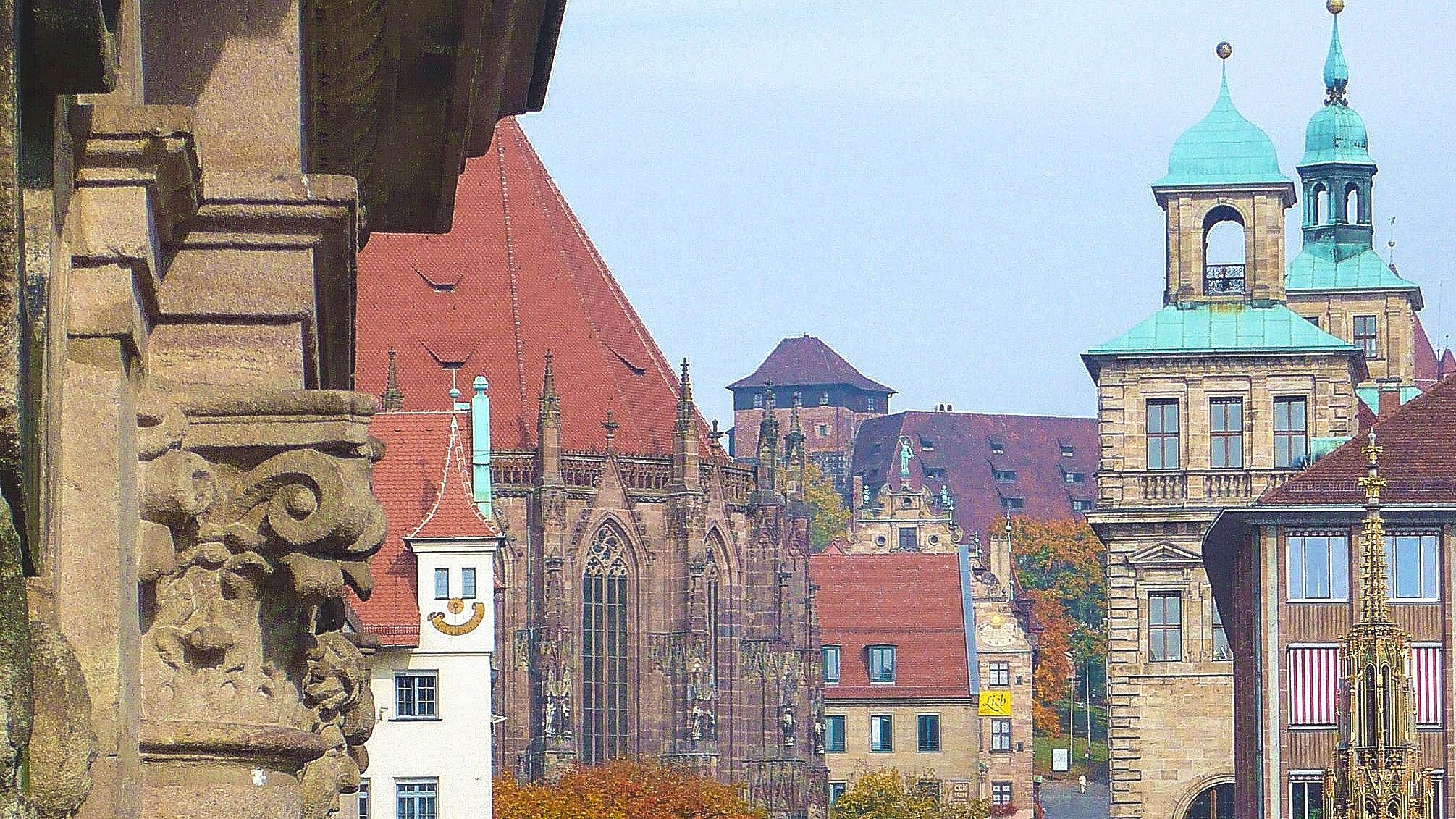 Old Town Nuremberg during the day.