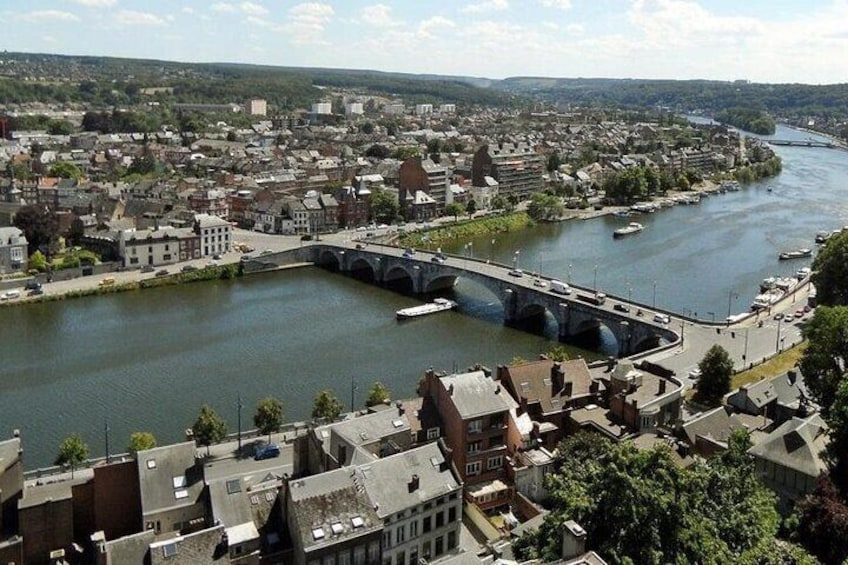 Private Self-Guided Walking Tour in Namur
