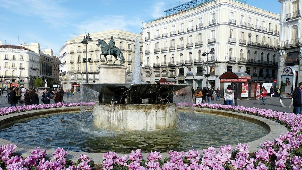 Show item 6 of 6. Fountain in Madrid