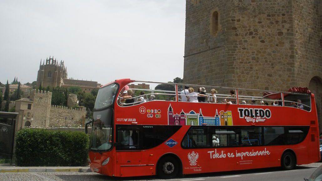 Visite libre de Tolède : bus à ciel ouvert, cathédrale ou train touristique