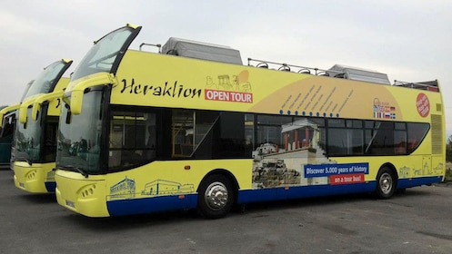 Heraklion Open tour bus