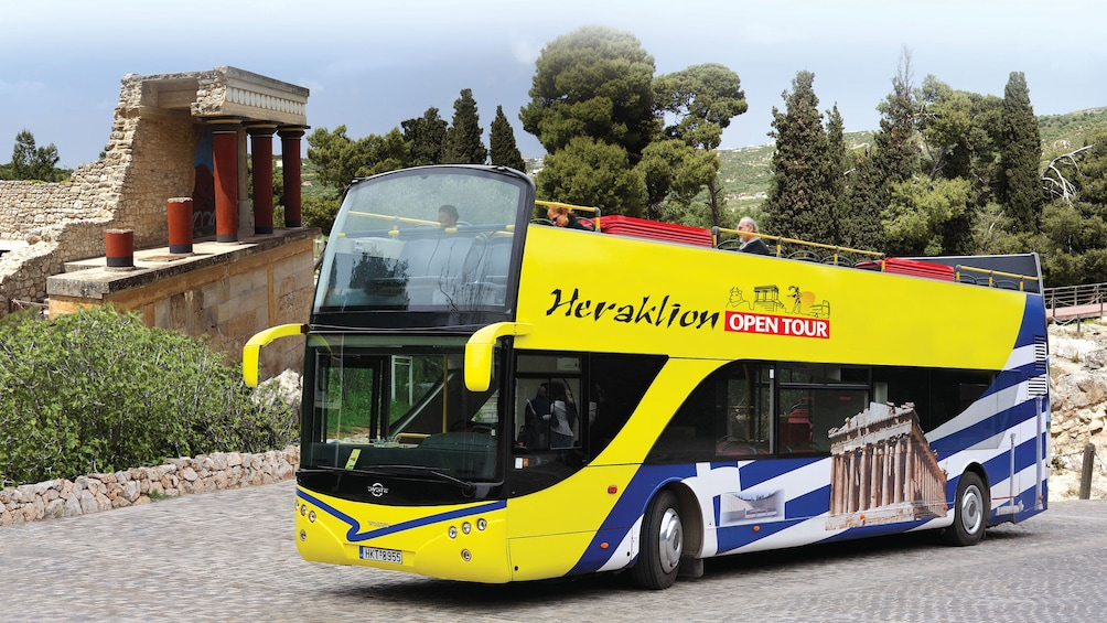 Show item 1 of 5. Herkalion open tour bus