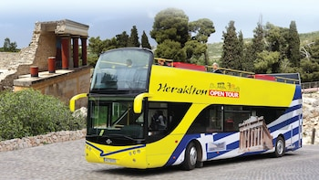 Heraklion Open-Top Hop-On Hop-Off Bus Pass