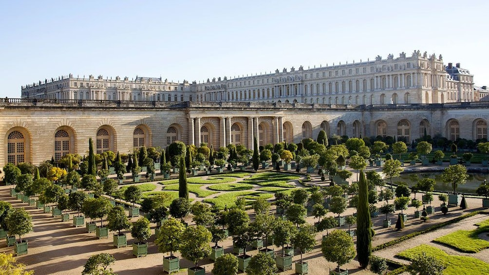 Show item 2 of 5. View of Versailles from garden