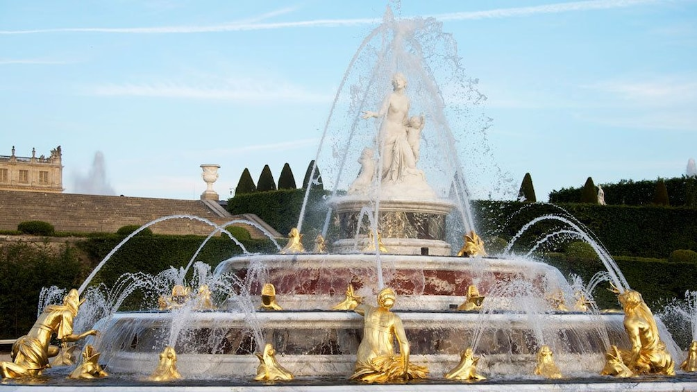 Show item 3 of 5. Lato's fountain in Versailles