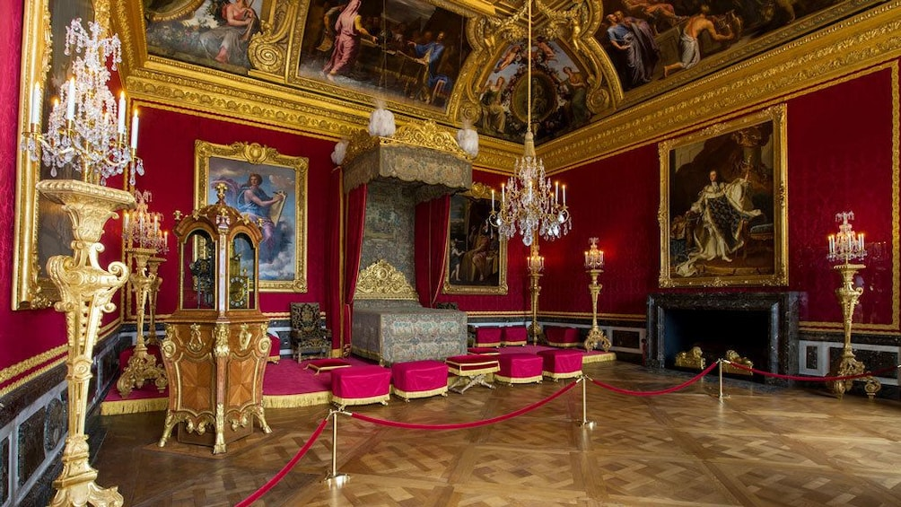 Show item 5 of 5. Parade Bedchamber in Versailles
