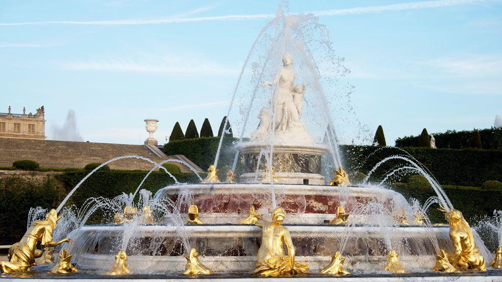 Lato's fountain in Versailles