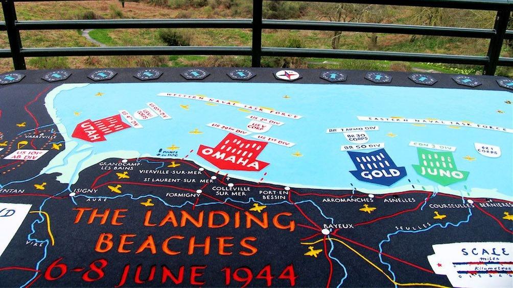 Charger l'élément 2 sur 5. Sign of landing strategy in Normandy