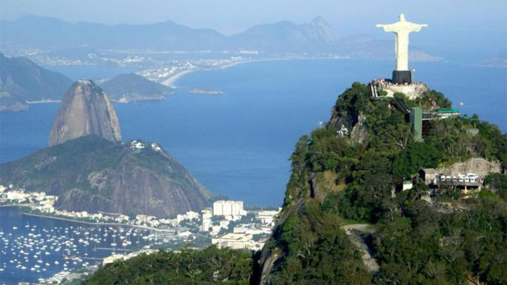 Show item 10 of 10. Aerial panoramic view of the beautiful Brazil