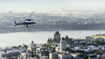 Québec City Sights & Beyond Helicopter Tour