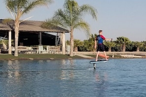 Private Electric Hydrofoil and Wakefoil Surf in Kerman