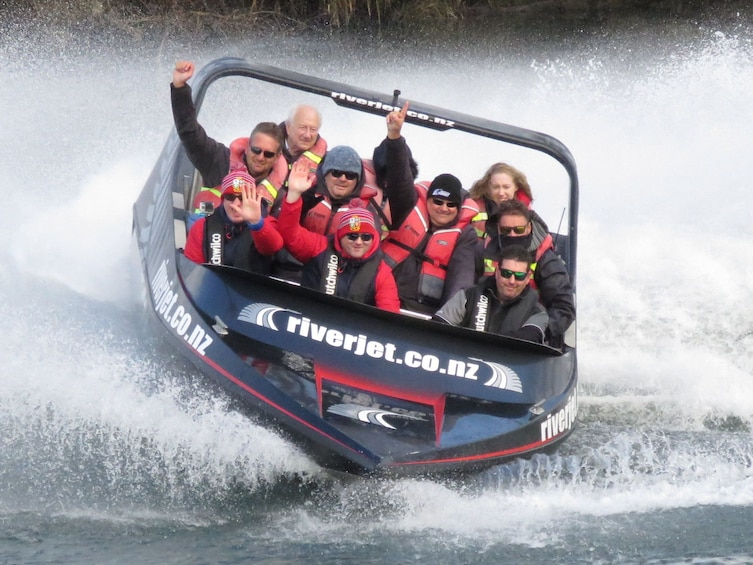 Show item 10 of 10. Huka Falls, Taupo Lookout & JetBoat Tour