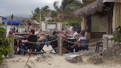 beach view in jamaica