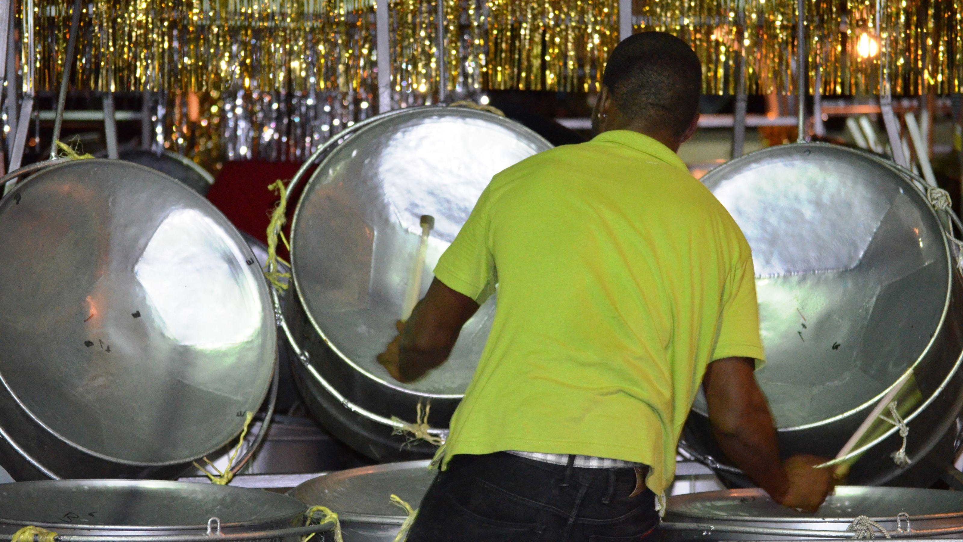 Steel Drums & Port of Spain Nightlife