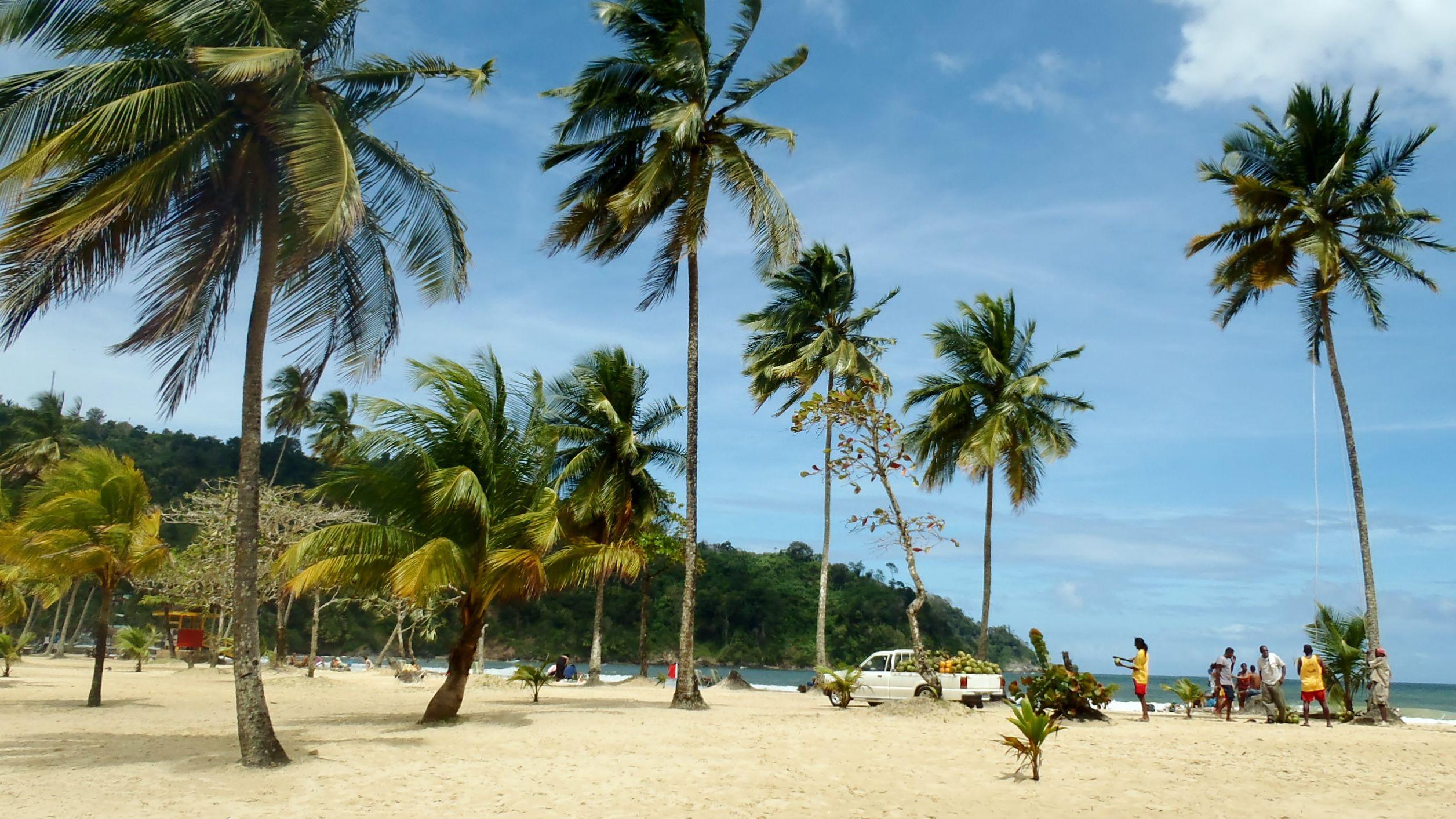 Beach of Trinidad and Tobago