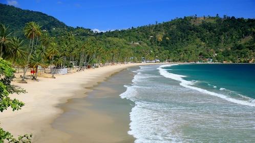 Beautiful beach in Trinidad and Tobago