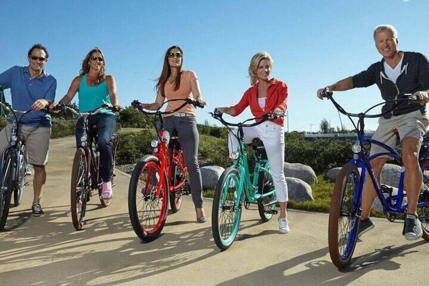 E-bikes for the whole crew