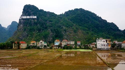 Mountain village in Vietnam