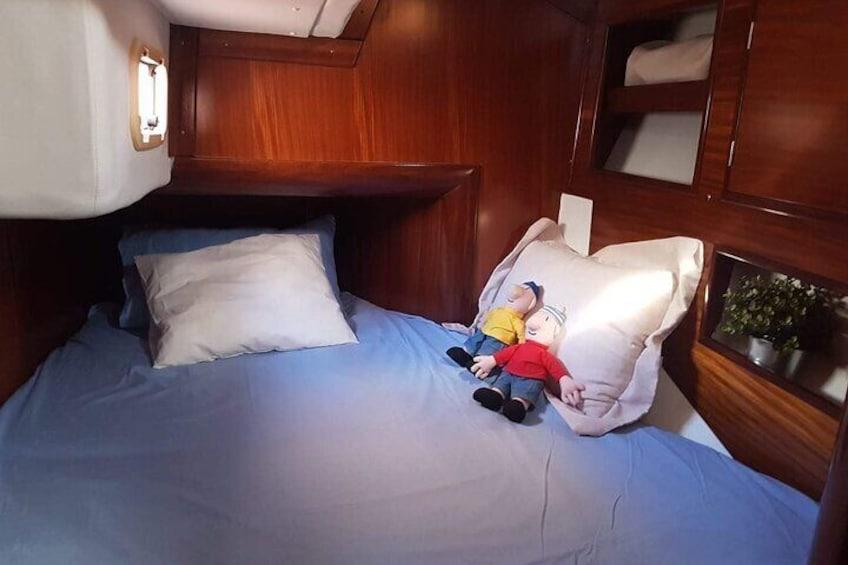 Sailboat ride around Almeria bay
