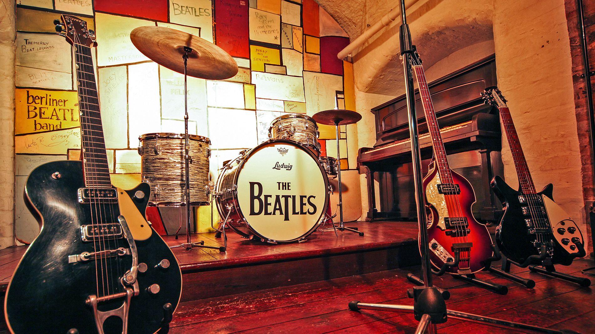Beatles band set up