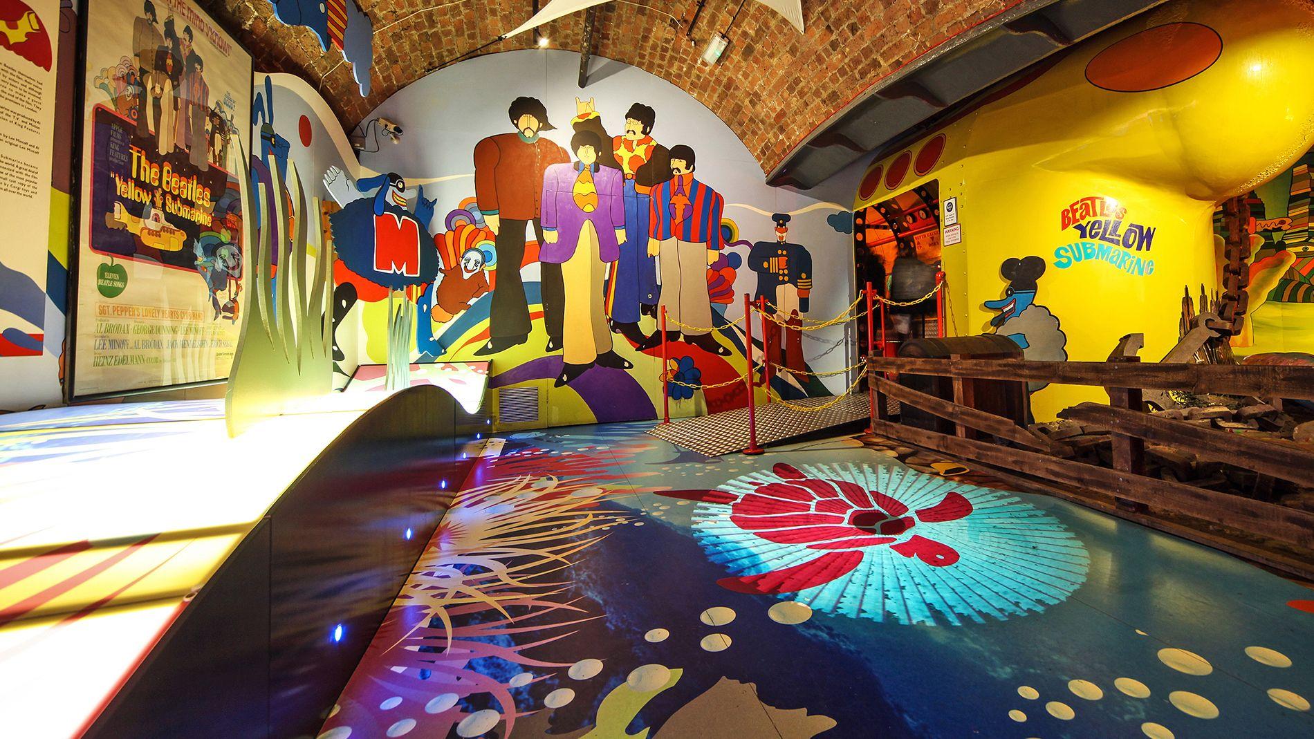 Beatles story exhibit