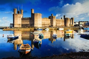Private Full-Day Snowdonia National Park and 3 Castles Tour