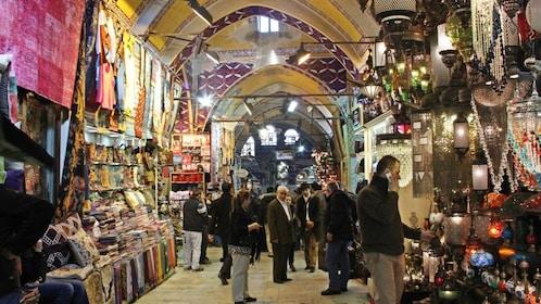 indoor market in istanbul