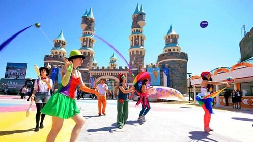 performers in Vialand in Turkey