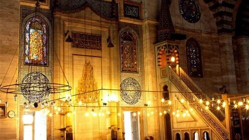 Inside of The Süleymaniye Mosque