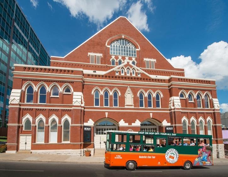 Show item 3 of 10. Nashville Old Town Trolley Hop-On Hop-Off City Tour