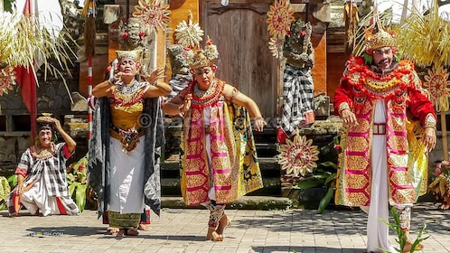 Traditional dancing in Bali